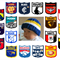 AFL Football Beanies, Football Beanie, Knitted Baby Hat, 0 Months to 3 Years