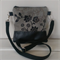 Small Leather and Fabric Tote