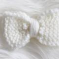 Head band with Knitted Bow | NB-Toddler | Custom Colours | Made to Order