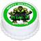 Incredible Hulk Personalised Round Cake Topper - PRE-CUT