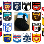 AFL Football Teams, Knitted Baby Booties, Hi Top Wool Baby Shoes, Baby Shower