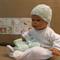 Baby Clothes, Shower Gift Set, Newborn Bonnet And Booties, Matinee Set Handmade
