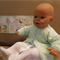 Baby Clothes, Knitted Newborn Matinee Jacket, Baby Shower Gift, Handmade