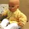 Lemon Baby Knitted Newborn Matinee Jacket Baby Shower Gift Winter Wool