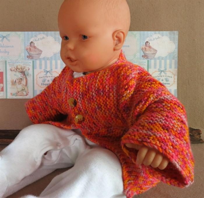 Handmade Baby Gifts Australia : Knitted baby jumper orange toddler sweater handmade
