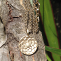 Lotus Gold Vermeil Yoga Necklace