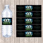 Ninja Turtle Personalised Water Bottle Labels - YOU PRINT