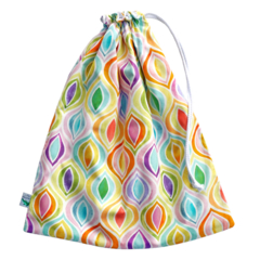 Large Swimming Bag / Fully Lined Wet Bag. Pool or Beach Bag. Ogee Watercolours.