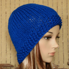 Knit Hat, Women's Men's Skull Cap Beanie, Wool Knit, Winter Fall Accessories