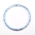Personalised Hand Stamped Bangle, Big enough for a quote or saying