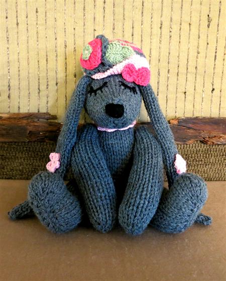 Handmade Baby Gifts Australia : Knitted bunny rabbit soft stuffed toy animals nursery