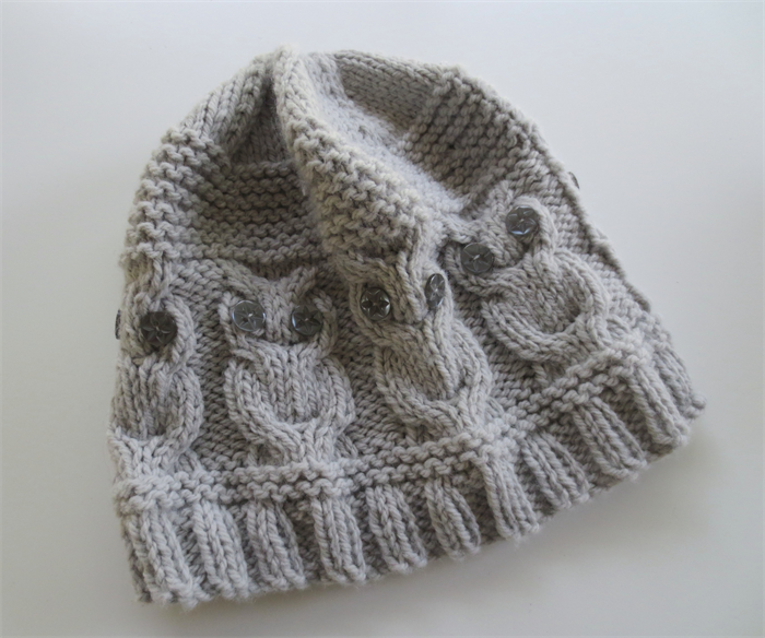 Knitting Pattern For Owl Beanie : Hand Knitted Owl Beanie / Hat KnittyNora madeit.com.au