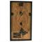 Wooden Wall Clock, Modern Wall Art, House Warming Gift, Kitchen Decor, Brown
