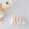 LOVE YOU TO BITS - resin shelfies - white XO (kiss and cuddle)