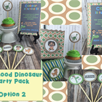 Party Packs - Invitations, cupcake toppers, party favor box