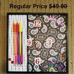 CLEARANCE SALEWall Clock Modern Wall Art Decor Study Gift for Girls Boys Office