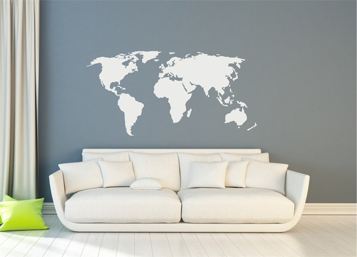 World map wall sticker design wall travel decor adventure world map wall sticker design wall travel decor adventure gumiabroncs Images