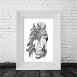 A4 Black & White Print