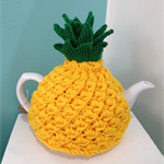 Pineapple Tea Cosy - Hand Knitted - Free Postage