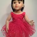 Red Ballet Tutu