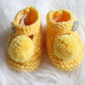 Pom Pom Mary Janes  |  NB to 12M | Made to Order