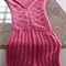 Mermaid Tail Blanket child's version custom made to order.