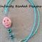 Skull Pendant Beaded Necklace