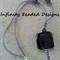Purple Glass Pendant Beaded Necklace
