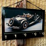 Wall Key Holders, Vintage Car Key Rack Man Cave Key Hook, Fathers Day Key Hanger