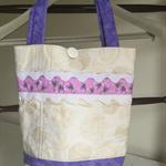 Cream Ric Rac Tote bag