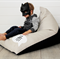 Personalised Kids Bean Bag - Monochrome Hi