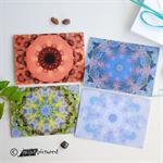 Kaleidoscope 'Outdoors' Greeting Cards, Set of 4
