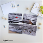Colour-Pop Photography Greeting Cards, Set of 4