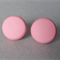 Pastel pink stud earrings, polymer clay, 3 sizes available, FREE postage