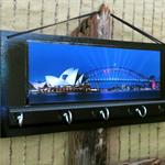 Wall Key Holders, Sydney Harbour Bridge, Opera House Key Rack Hook Hanger, Wall