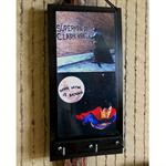 Superman Batman Key Rack, Comic Cartoon Wall Holders Hook, Ear Phone Storage