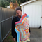 I will print and post this pattern to you , Crochet, Pattern, Baby-wearing hoode