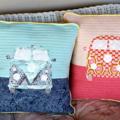 Kombi Applique Cushion Cover