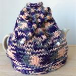 Tea Cosy - Pink, grey and purple