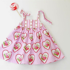 "Size 3 and 4 ""Valentine Roses"" Party Dresses"