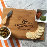 Personalised Couples Serving Board