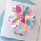 For you floral hearts blank general her friend card