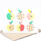 Blank Card - Apples Geometric - BLA044