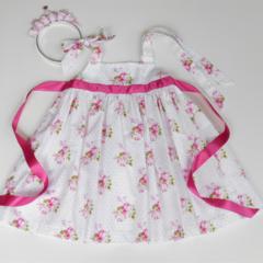 "Size 2 - ""Sunshine Roses"" Party Dress"