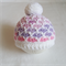 Baby Pom Pom Beanie - 0-3 mths