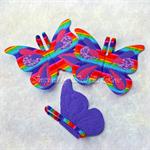 Fabric Butterfly Wings - Custom Designed