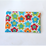 Waterproof makeup bag purse toiletries oilcloth pencil case cosmetics pouch