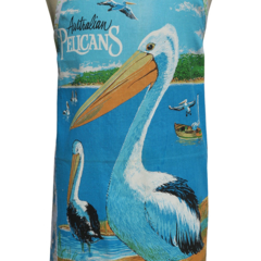 Metro Retro AUSTRALIAN PELICANS Tea Towel Kitchen Apron Birthday Christmas