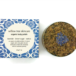 Organic Body Polish- Lavender and Walnut Body Polish