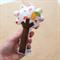 Tree Rattle - bird tree with pear
